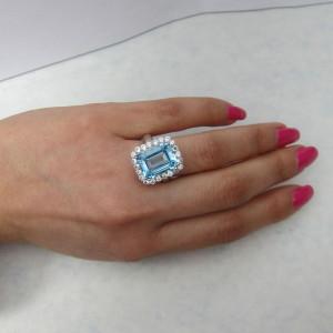 Aquamarine Ring Jewelry