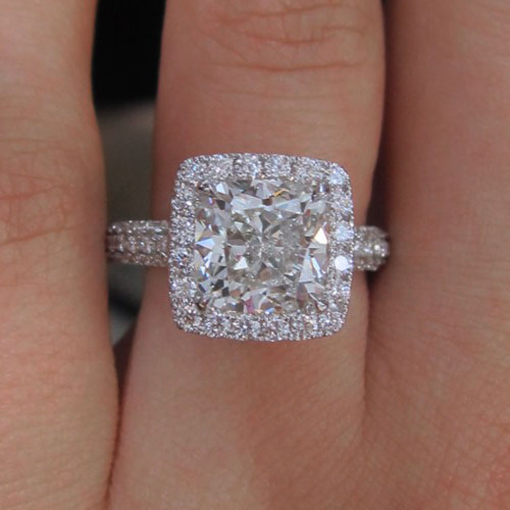 engagement rings setting for halo ring