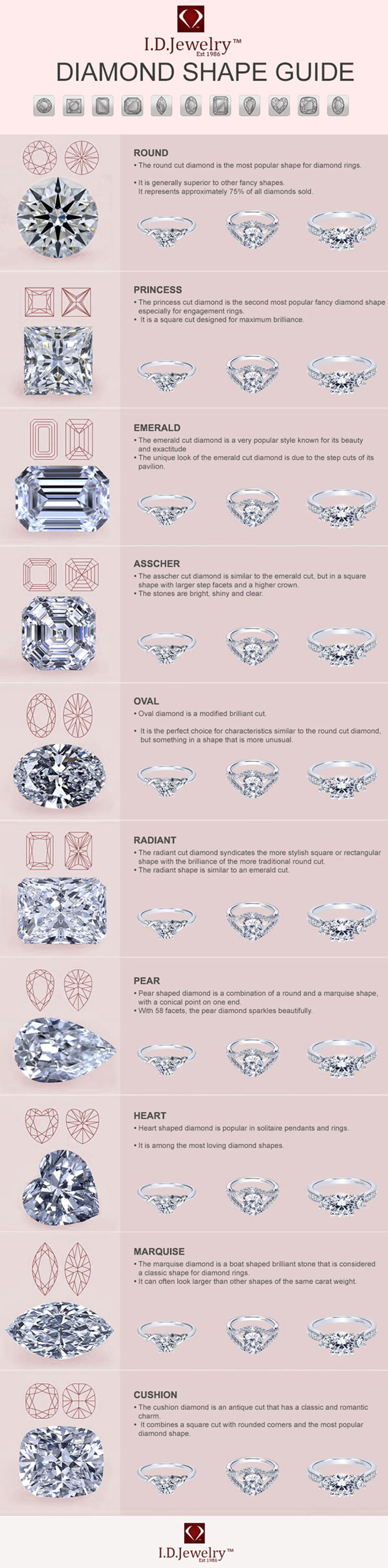 DIAMOND-SHAPES-INFOGRAPHIC-1
