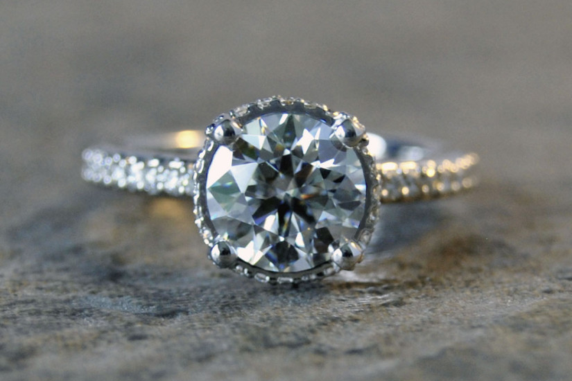 Amora Diamond Engagement Ring