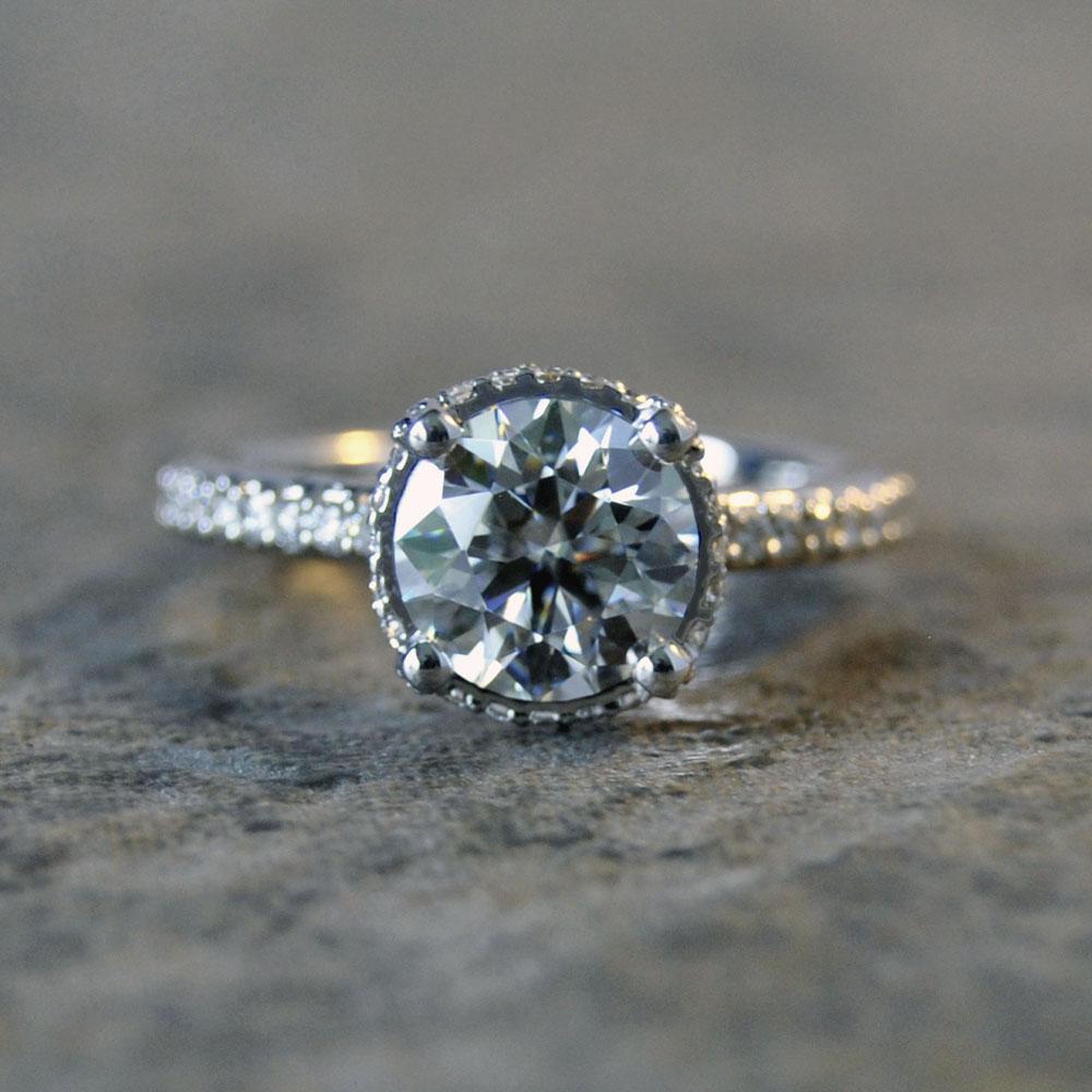 Amora Diamond Engagement Ring