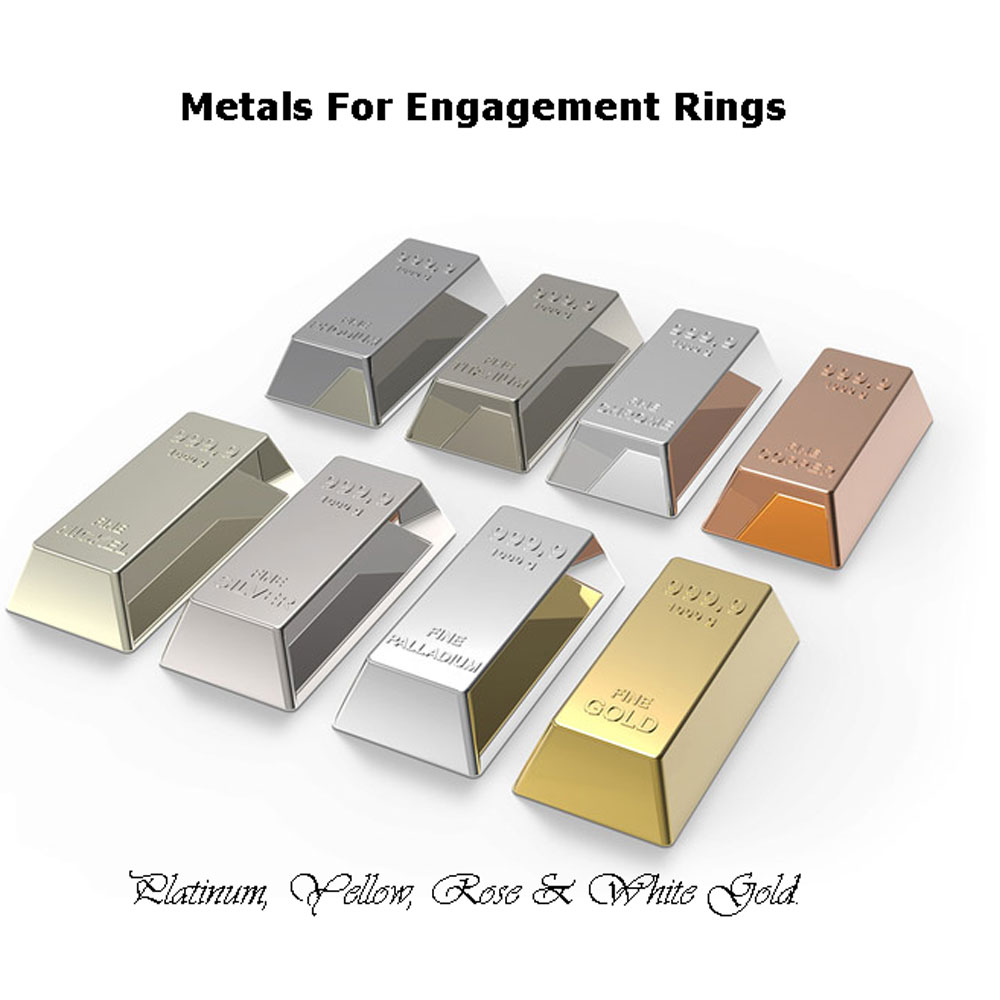 The Best metal for Engagement Rings