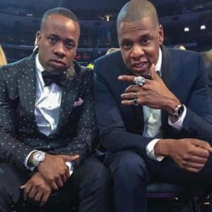 Jay Z was Solid Gold At The Grammys In His Diamond Encrusted Panther's Head Ring