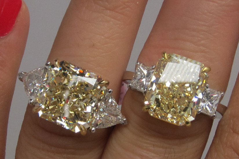 fancy engagement rings