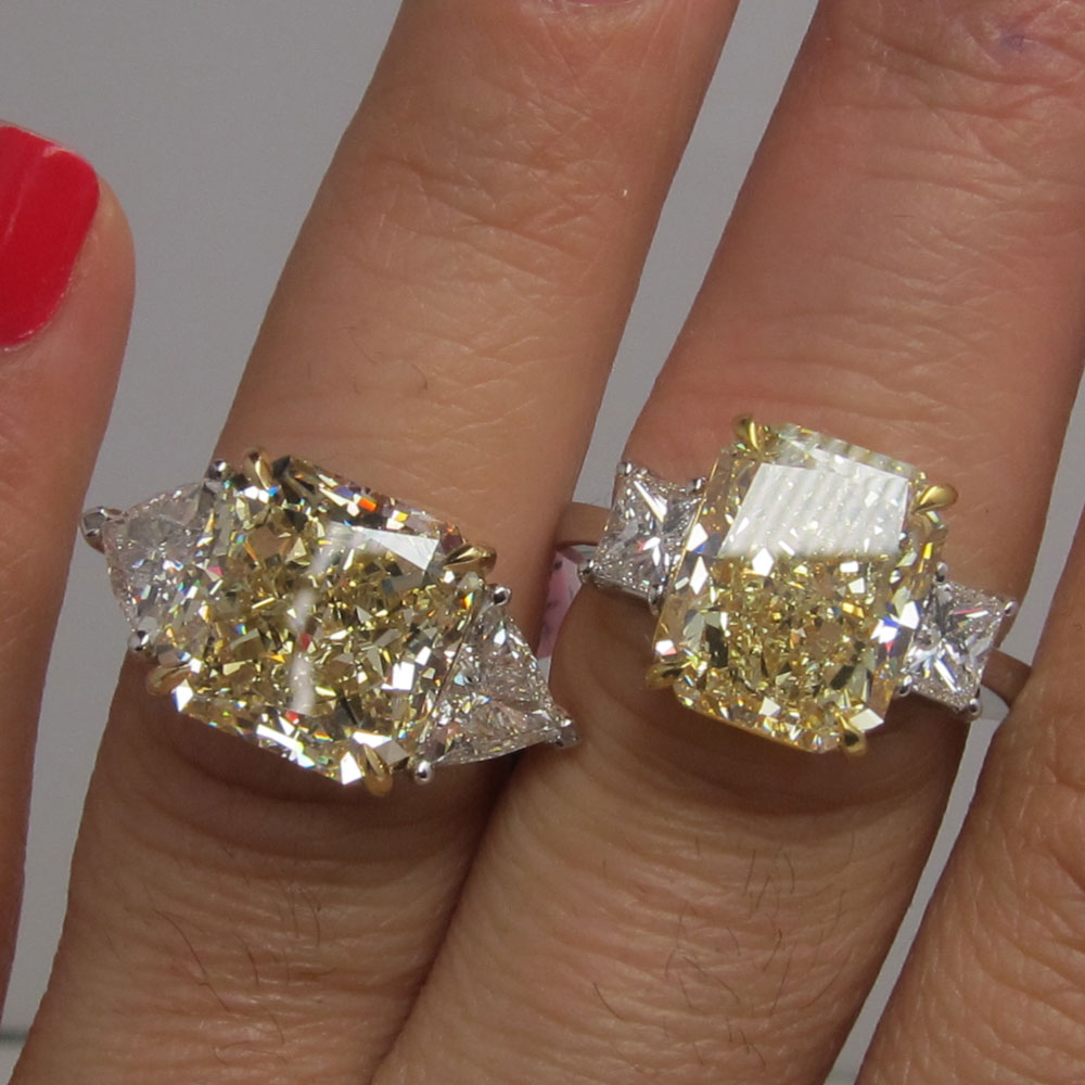 diamond cut pear ring product ct engagement steals sparkly custom brilliant colorless rings betsy