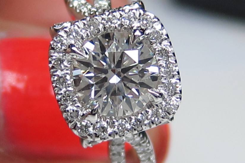 setting and mounts for engagement rings