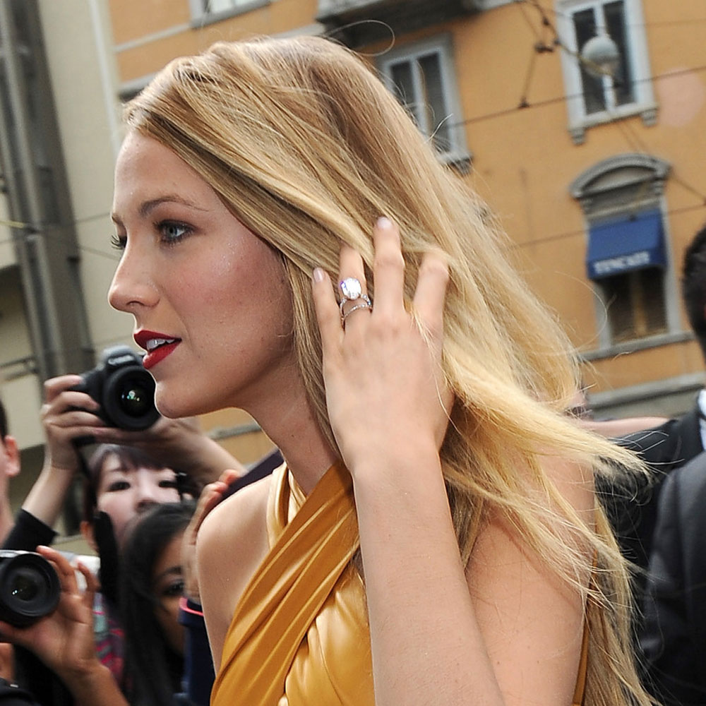 stunning celebrities engagement rings