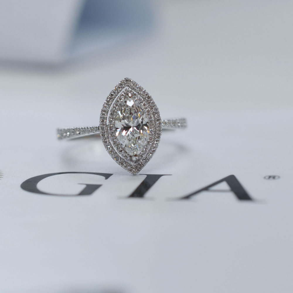 custom made engagement ring price