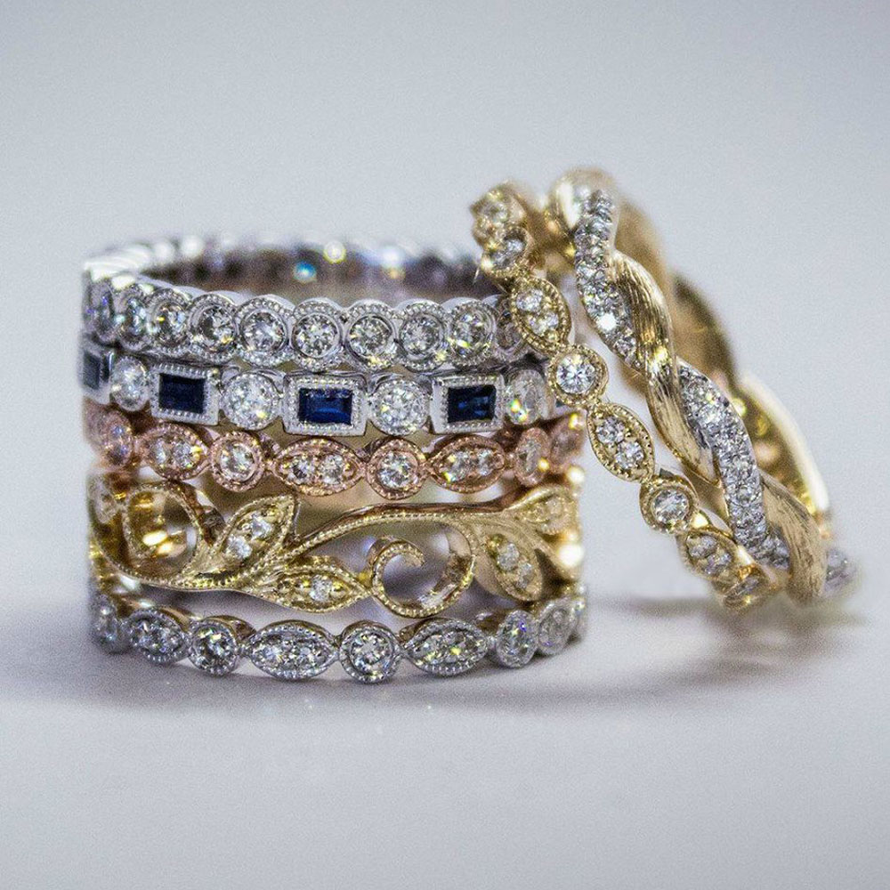 Fashion Stackable Rings