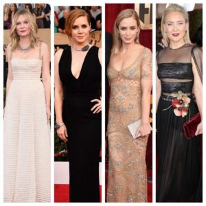 SAG Awards Fashions