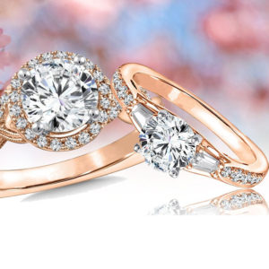 Rose Gold Engagement Ring for Valentine's Gift Ideas