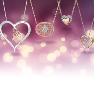 Rose Gold Pendants for Valentine's Gift Ideas