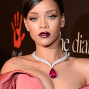 rihanna in July's birthstone