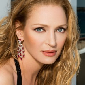 Uma Thurman In July Birthstone Ruby